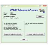 Reset Epson L220 Solución Error Almohadillas - Envío Gratis