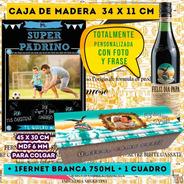 Especial Combo Día Del Padre, Caja Con Fernet Branca +cuadro