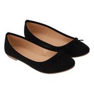Zapatos Flats Punta Redonda De Mujer C&a (3003969)