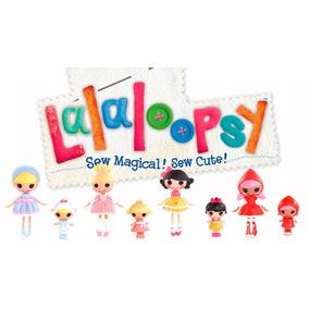 Mini Lalaloopsy 4 Set - Cinder, Little, Snowy, Scarlet & Sis