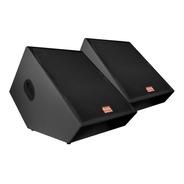 Kit 2x Monitores Passivos Somplus 15 Pol 150w Spmon152vias