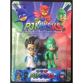 Set Jueguetes De Héroes En Pijama En Pjmasks Kit Completo