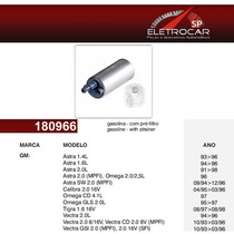 Bomba De Combustivel Gm Chevrolet Omega Cd, Gls 2.0, 4.1 Até