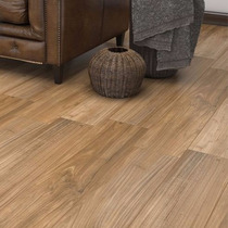 Porcelanato Simil Madera Roble Colorado Esmaltado 20x120 Cm