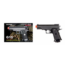 Pistola Airsoft Gun, Modelo G10, Nueva, Envio Gratis.