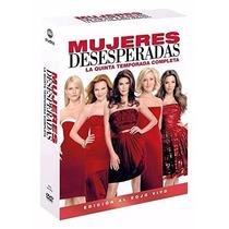 Esposas Desesperadas Quinta Temporada 5 Cinco Serie Dvd