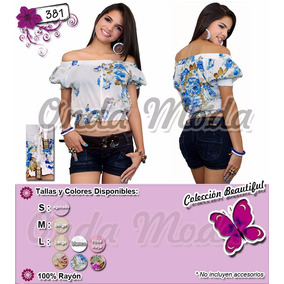 Blusas Faldas Short Bragas Damas Casuales Importadas Mayor