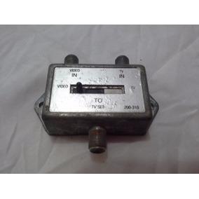 Antigo Receptor Conector Antena Tv Vídeo Game Antigo Cod 256