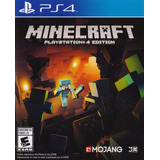 Minecraft Edicion Playstation 4 Ps4