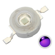 5 Unidades Chip Led Cob 3w Ultravioleta Uv Cabinas Uñas Etc