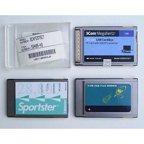 Placas Pc Card Pcmcia Tipo Il Compatible Notebooks Antiguas