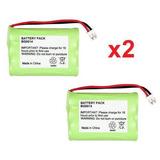 2 Baterías Recargables Fenzer Baby Monitor De Graco 2791 279