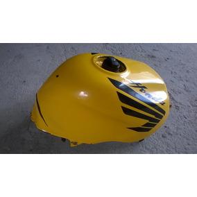 Tanque De Gasolina Honda Cb 500 Amarelo Com Detalhe No Bocal