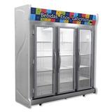 Expositor Refrigerado Fricon Porta De Vidro 1450l 220v