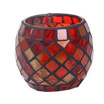 Niceeshop (tm) Mosaico De Cristal Del Té Luz Vela Votiva Ti