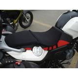 Almofada Moto Assento Gel Para Moto Capa Banco Gel Bmw