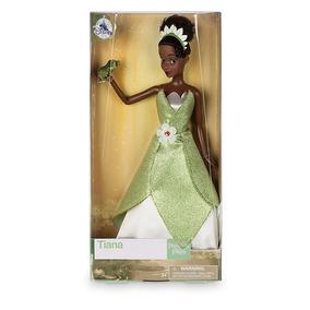 Muñeca Princesa Tiana Disney Store 30 Cm V2017
