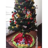 Árbol De Navidad Con Decoración 2.20m Alto