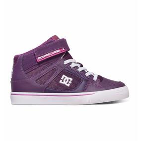 Dc Shoes Spartan High Adbs300111 Pwh Morado Kids