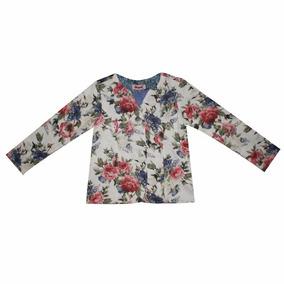 Blazer Infantil Feminino Floral Daya