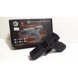 Marcadora Airsoft Glock 18c We Doble Cañon Importada