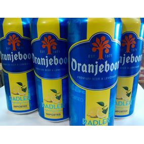 Cerveza Oranjeboom Saborizada Con Limón Lata 500 Ml