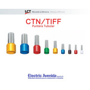 Terminales Puntera 6mm Tiff Ctn Pack X 100 Unidades Lct
