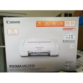 Impresora Canon Pixma Mg2910 Para Imprimir Con Calidad. Wifi