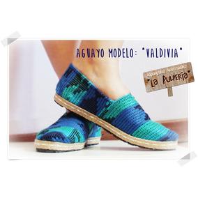 Alpargatas Artesanales La Pulpería- De Aguayo! Valdivia