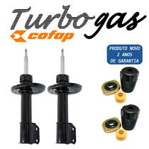 02 Amortecedores Dianteiros Corsa / Celta - Novo Turbo Gas