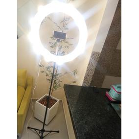 Iluminação Ring Light 12 Fotos E Videos+lampadas Menor Preço