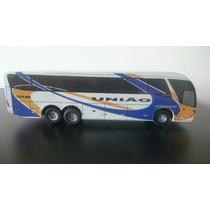 Miniatura De Ônibus Expresso União G7 - Aproveite Promoção