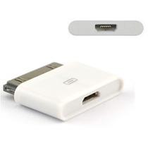 Adaptador Micro Usb V8 A Iphone 4 Ipad 1 2 3 Ipod Classic
