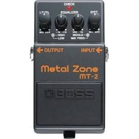 Metal Zone Mt2 Boss Guitarist House. Envío Gratis