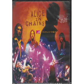 Alice In Chains - Dvd Mtv Unplugged - Lacrado