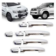 Kit De 4 Cubre Manijas Cromadas Toyota Hilux Sw4 Corolla