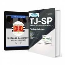 Combo Tj-sp 2017 Psicólogo Judiciário + Curso Online