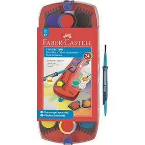 Faber-castell - 24 Conector Conde-paint Box - Proveedores D