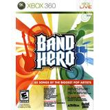 Nuevo Y Original Band Hero Xbox 360