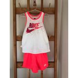 Conjunto Nike, Short Y Musculosa, Para Nena, Traído De Usa!