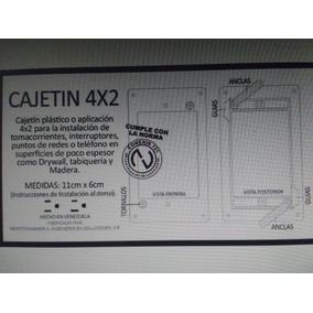 Cajetin Para Dry Wall 4x2
