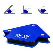 Esquadro Magnetico Para Solda - Suporta 12kg  Wwsoldas