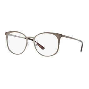 3fe1ea8a70f8b Armação Oculos Grau Michael Kors Mk3022 1218 53 Grafite
