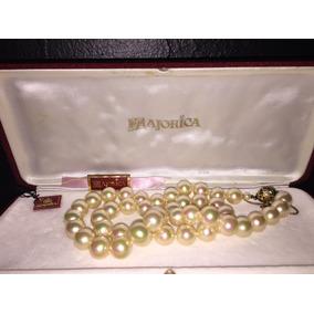 4426d846ceb1 Joyas Relojes Collar De Perla Majorica - Joyería Perlas en Mercado ...