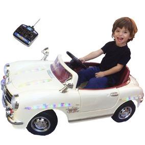 Mini Carro Antigo Retrô Controle Remoto Infantil Bel 914500