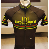 Remera Jersey Magenta Soldaini De Ciclismo