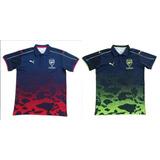 Camiseta Polo Arsenal F.c 2017-2018 Camuflaje Oficial