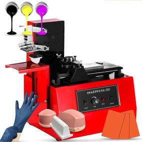 Combo Para Tampografía Semi-automático Inc. Tintas Y Tampos
