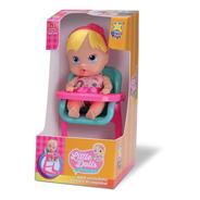 Muñeca Primeras Comidas Little Dools Silla Comer Diver Toys
