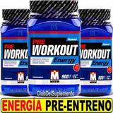Pre Workout Energy 900 G. Mervick Pre Entreno